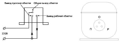 схема для проверки холодильника мультиметром