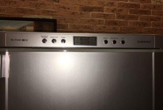 Ошибка rd в холодильнике Samsung
